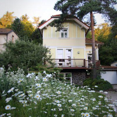 Zahrada Snezenka detail domu