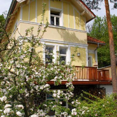 Zahrada Snezenka - vila