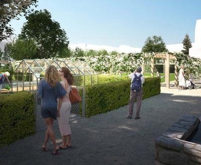Jiraskovo namesti vizualizace klasterni zahrada