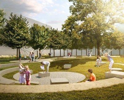 Jiraskovo namesti vizualizace park