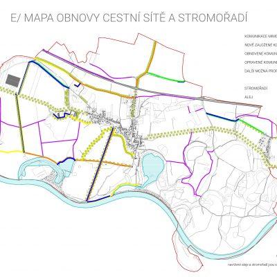 Koncepční studie obce Ostrá